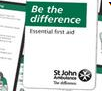 Free St John's Ambulance first aid guide