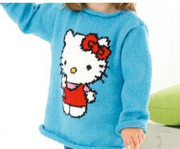 Free Hello Kitty knitting pattern