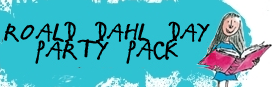 Free Roald Dahl kids' packs