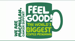 Free Coffee Morning Kit (Cake Flags, Table Cover) from Macmillan Support