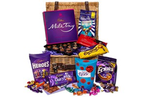 Win a Cadbury Chocolate Basket – Today Only!