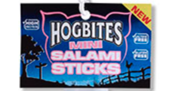 Free pack of Hogbites Mini Salami Sticks