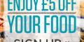 £5 off Food Bill – Sizzling Pubs