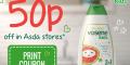 50p off Vosene Kids Pink Pomelo Shampoo