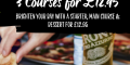 3 Courses For £12.95 – Pizza Express