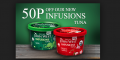 50p off John West Infusions Tuna