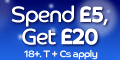 £20 Bonus from Gala – Keep your winnings