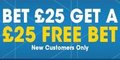 Free £25 Bet from William Hill Sports!