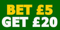 Free £20 Bet with Paddy Power
