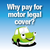 Get free motor legal protection for life