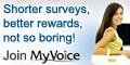 Quick paid surveys for men aged 16-35