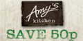 50p Off Any Amy's Kitchen Meal