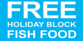 Holiday Fish Food Blocks