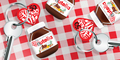 Free Nutella Key Rings
