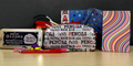 Notebooks, Pens, Maths Kits, Erasers & More