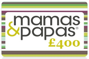 Win a £400 Mamas and Papas Gift Card!