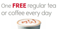 Free Hot Drink – Waitrose Cafe