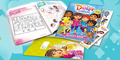 10,000 x Dora The Explorer Activity Packs