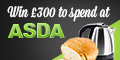 Win £300 to spend at Asda – Ends Today!