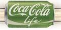 Bottles of Coca-Cola Life