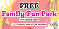 California Raisins Family Fun Packs