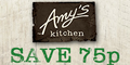 75p off Amy's Kitchen Ready Meals
