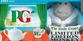 PG Tips Soft Toy Monkey