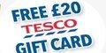 Free £20 Tesco Gift Card – with Sun+