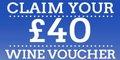 £40 off Wine Voucher