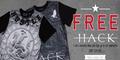 Free HACK T-Shirts Worth £24.99