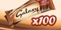 Win 100 x Galaxy Chocolate Bars