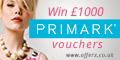 £1,000 of Primark Vouchers