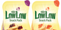 50p off Low Low Snack Packs