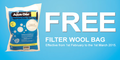 Filter Wool Bag For Aquariums