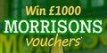 Win £1000 Morrisons Vouchers
