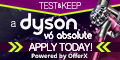 Test & Keep a Dyson V6 for Free