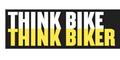 Think Bike Think Biker Car Sticker