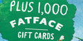FatFace Gift Cards & Land Rover Discovery (or £25k)