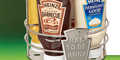 Selection of Heinz Sauces & Caddy Holder