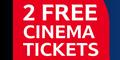 Pair of Cineworld Cinema Tickets