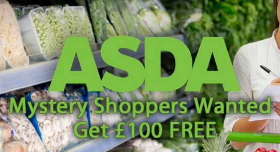 Mystery shoppers needed – shop for free at ASDA