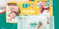 Pack of Mamia Nappies & Wipes