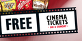 Free Cinema Tickets With MARS
