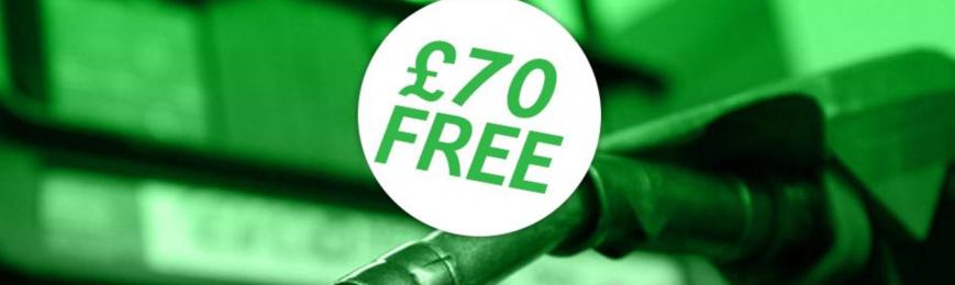 £70 of Free Petrol