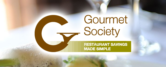 30 day FREE dining card from Gourmet Society