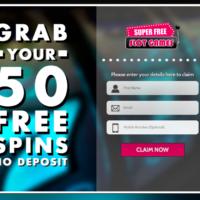 50 FREE Spins – No Deposit Needed!