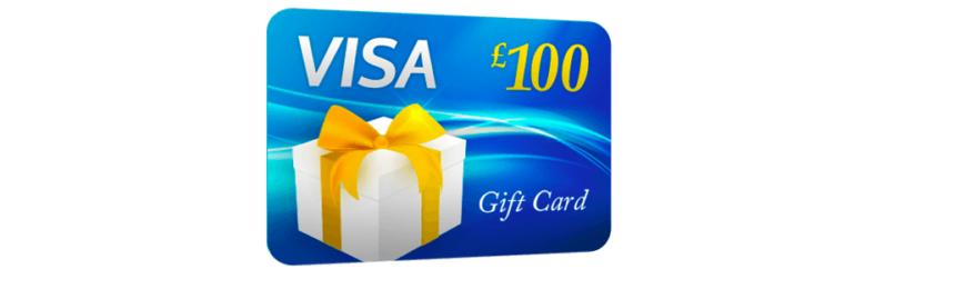 Free £100 Visa Gift Card