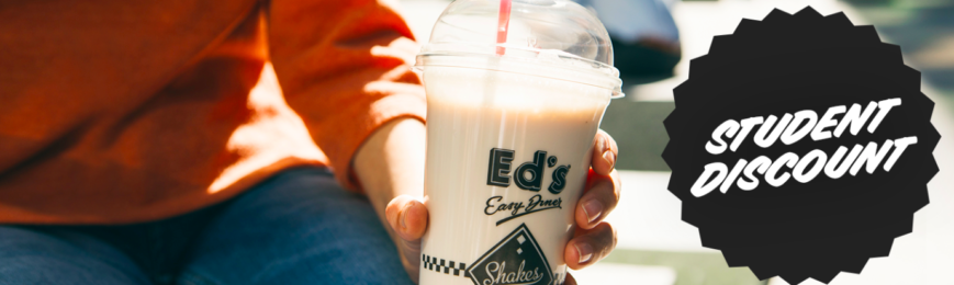 30% off Food Bill For Students – Ed's Easy Diner