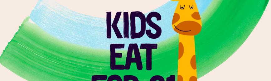 Kids Eat For £1 At Giraffe