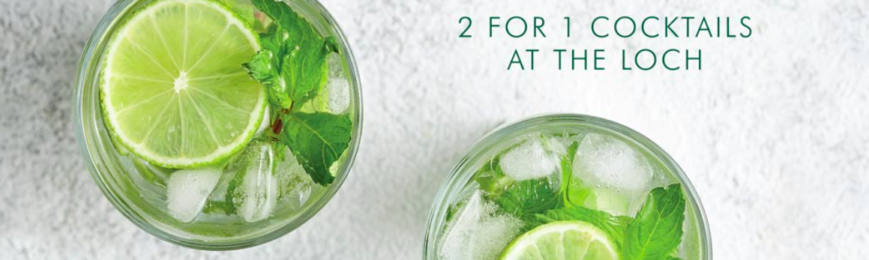 Free Cocktail At Loch Fyne